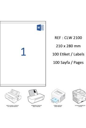 Crea Label Clw-2000 210 X 297 Mm Lazer Etiket