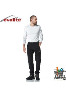 Evolite Bay Blackhole Softsehll Pantolon