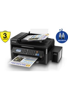 Epson L565 Tarayıcı + Fotokopi + Faks + Mürekkep Püskürtmeli Yazıcı