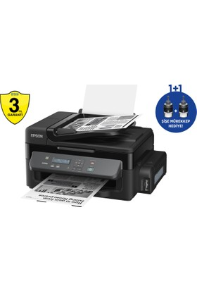 Epson M200 Fotokopi + Tarayıcı + Mürekkep Tanklı Mono Yazıcı