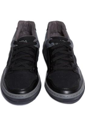 U.S. Polo Assn. Erkek Çocuk K6Uspy144 Ayakkabı Siyah