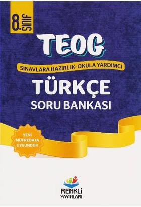 Renkli Yayınları Teog1 8. Sınıf Türkçe Soru Bankası