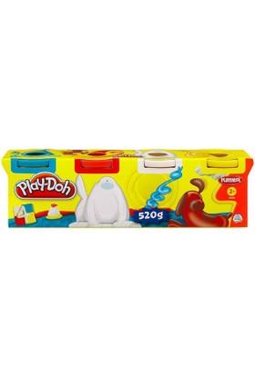 Hasbro Play-Doh 4 Renk Oyun Hamuru 22683-22114