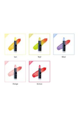 Limonian Oseque Tint Lipstick - Renk Değiştiren Kalıcı Ruj - Sarı (Yellow Bling)