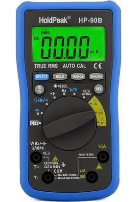 Holdpeak 90B Otomatik Ölçü Aleti True RMS Multimetre