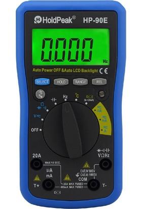 Holdpeak 90E Otomatik Ölçü Aleti Multimetre
