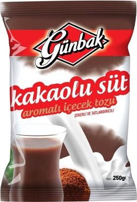 Günbak Sütlü Kakao Aromalı İçecek 250 G