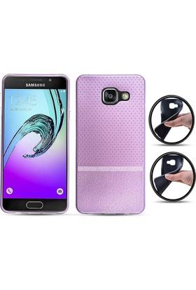 Ally Samsung Galaxy A310 A3 2016 Yumuşak Dokulu Soft Silikon Kılıf
