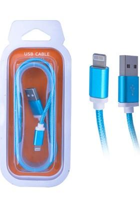 Ally 1.5 Metre Renkli iPhone iPad İpod Usb Kablo