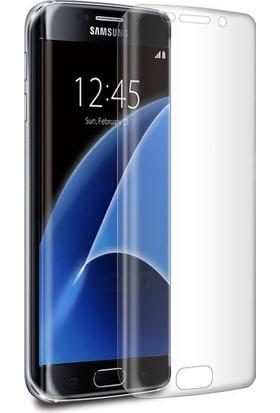 Ally Samsung Galaxy S7 Edge Kavisli Şeffaf Darbe Emici Parlak Ekran Koruyucu