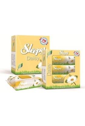 Sleepy Islak Havlu Papatya Kokulu Kapaklı Ambalaj 3x50'li Paket