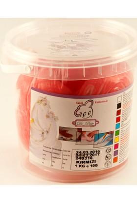 Dr Paste Şeker Hamuru 1 Kg - Kırmızı