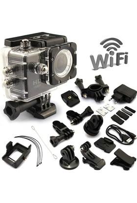 Go Life 1080P Su Geçirmez Aksiyon Kamera(Aksesuar+Özel Çanta)