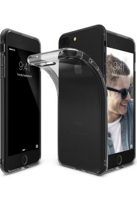 Ringke Air iPhone 7/8 Plus Kılıf Smoke Black - Ultra Hafif Esnek İnce Renkli Transparan