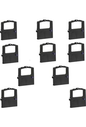 Print Şerit Oki ML 320 + 321 + 3320 + 3321 Muadil Şerit 8 + 2 10 Adet Kartuş Nokta Vuruşlu Ekonomik Yazıcı Şeridi