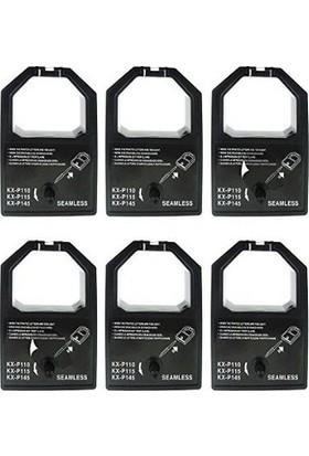 Print Şerit Panasonic KX-P 115 + KX-P 1150 Muadil Şerit 4 + 1 5 Adet Kartuş Nokta Vuruşlu Ekonomik Yazıcı Şeridi