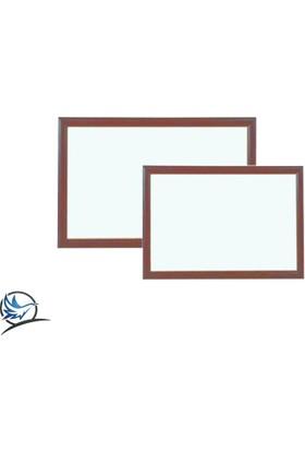 Martı Yazı Tahtası 60 x 90 MDF Çerçeve Ekonomik Beyaz Okul Yazı Tahtası + 3 Adet Tahta Kalemi + 1 Adet Yazı Tahtası Silgisi