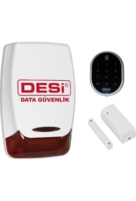 Desi Midline Tuş Takımlı (Keypad) Alarm Sistemi | Data Güvenlik