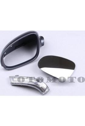 Oem Volkswagen Rabbit 2006-2009 Sol Dış Ayna Camı+Kapak+Sinyal