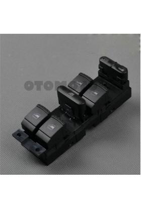 Oem Skoda Octavia A4 Kasa Elektrikli Cam Düğmesi Sol Ön Dörtlü