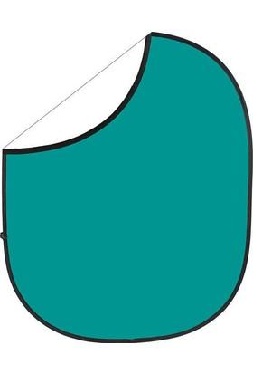 Savage (U.S.A) Teal/White Collapsible Backdrop (Katlanabilir Beyaz/Yeşil Fon)