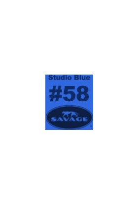 Savage (U.S.A) Stüdyo Kağıt Fon Studio Blue Seamless Paper 271*1100 cm