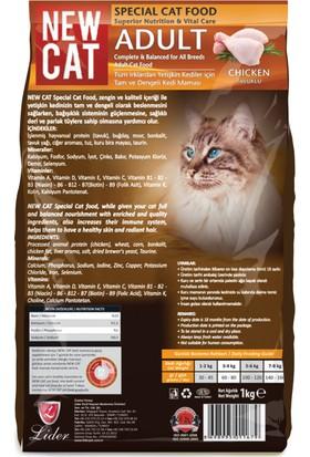 Newcat Ekonomik Kedi Maması 1 Kg