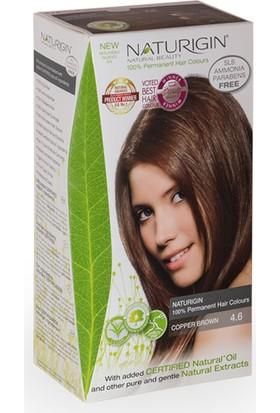 Naturigin Organik İçerikli Saç Boyası 4.6 Bakır Kahverengi