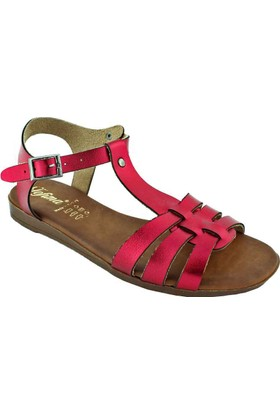 Tofima 4330 Günlük Kadın Sandalet Kırmızı