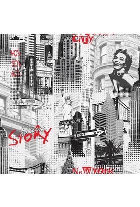 Dekor Vision 254-B Pop Art Duvar Kağıdı