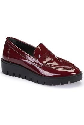 Polaris 62.109214Rz Bordo Kadın Basic Comfort Ayakkabı
