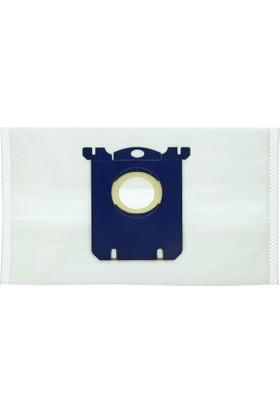 SüpürgeMarket Philips S-Bag Ultra Long Kumaş Süpürge Torbası 5'li Paket