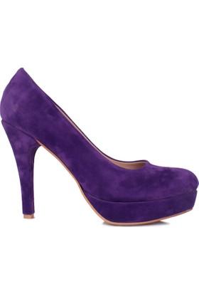 Loggalin 580502 031 827 Kadın Mor Platform Ayakkabı