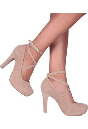 Loggalin 580901 031 327 Kadın Ten Platform Ayakkabı