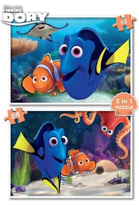Ks Games Kayıp Balık Nemo Puzzle (12+24 Parça)