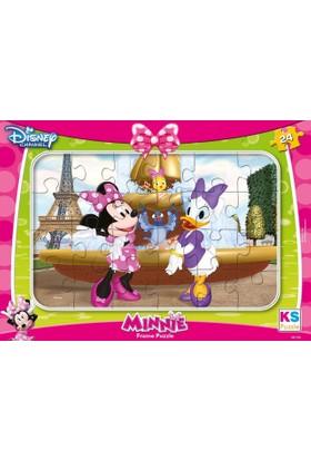 Ks Games Minnie Mouse Ve Daisy Duck 24 Parça Frame Puzzle