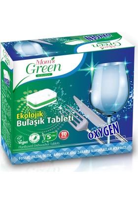 Mom's Green Ekolojik Oksijenli Bulaşık Makinesi Tableti 30 Adet
