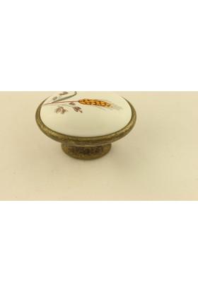 Gurcay Kutup Porselen Kulp Antik Buğday