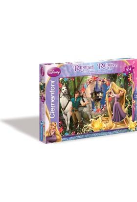 Cleemntoni Let Down Your Hair - 104 Parça Rapunzel Puzzle