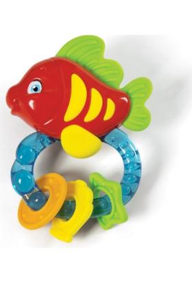 Baby Clementoni Diş Kaşıyıcı Balık Çıngırak