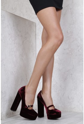 İlvi Essence 458-7 Stiletto Bordo