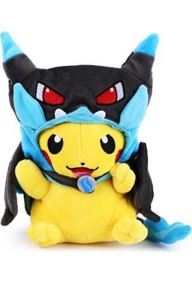 Pokemon Kawaii Pikachu Peluş Oyuncak Action Figure 22cm