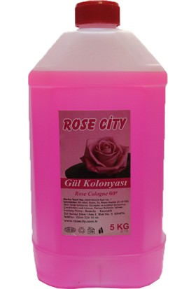 Rose City Rosecity Gül Kolonyası 5000 Ml