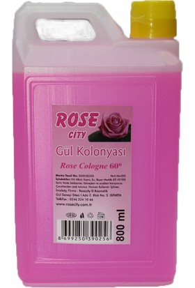 Rose City Rosecity Gül Kolonyası 800 Ml