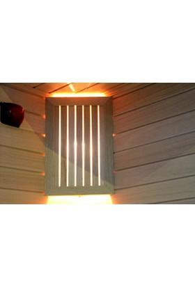 EnvoySpa - Ahşap Köşe Sauna Aplik (Abachi) - 2