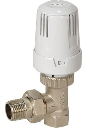 ECA Termostatik Radyatör Vanasi Köşe Tipi Trv3