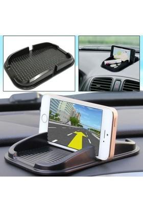 Araba Telefon Tutucu Kaydırmaz Havuzlu Ped