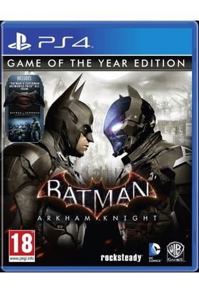 Warner Bros Ps4 Batman Arkham Knight Game Of The Year Edition