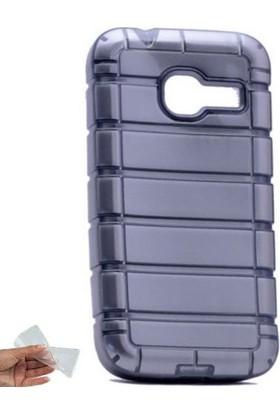 Teleplus Samsung Galaxy J1 Mini Lazer Çizgili Silikon Kılıf