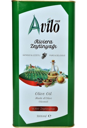 Avilo Riviera Zeytinyağı 5 Lt